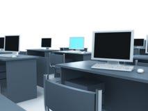 Quarto de computador. ilustração royalty free