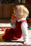 Quarto de criança ensolarado Imagem de Stock Royalty Free