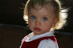 Quarto de criança ensolarado Foto de Stock