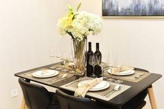 Quarto de Dinning Fotografia de Stock