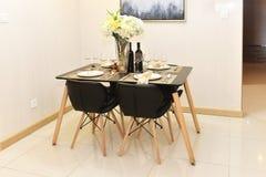 Quarto de Dinning Imagem de Stock Royalty Free