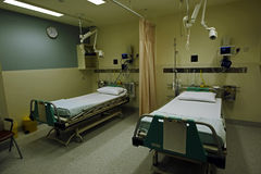 Quarto de hospital Imagens de Stock Royalty Free