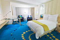 Quarto de hotel 5 Fotografia de Stock Royalty Free