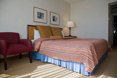 Quarto de hotel Fotos de Stock Royalty Free
