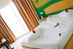 Quarto de hotel de Santo Domingo Fotos de Stock Royalty Free