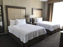 Quarto de hotel de Santo Domingo imagem de stock