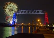 Quarto de julho em Duluth Minnesota Fotografia de Stock