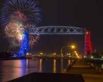 Quarto de julho em Duluth Minnesota Foto de Stock