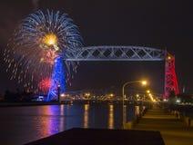 Quarto de julho em Duluth Minnesota Foto de Stock Royalty Free