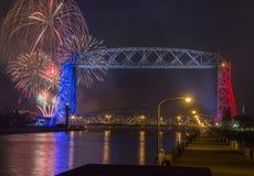 Quarto de julho em Duluth Minnesota Fotografia de Stock Royalty Free