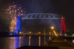 Quarto de julho em Duluth Minnesota Imagens de Stock Royalty Free