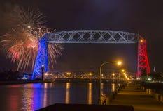 Quarto de julho em Duluth Minnesota Imagem de Stock