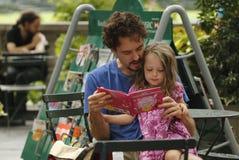 Quarto de leitura no parque de Bryant Foto de Stock Royalty Free