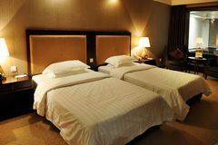 Quarto de luxe do hotel Foto de Stock