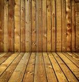 Quarto de madeira Imagem de Stock Royalty Free