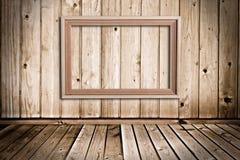 Quarto de madeira Fotografia de Stock