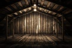 Quarto de madeira imagens de stock royalty free