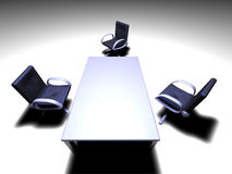 Quarto de reunião 4 Imagens de Stock Royalty Free