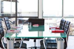 Quarto de reunião corporativa vazio Fotografia de Stock