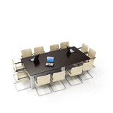 Quarto de reunião do escritório Imagem de Stock Royalty Free