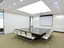 Quarto de reunião grande Imagens de Stock