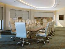 Quarto de reunião moderno Fotos de Stock Royalty Free