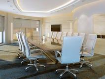 Quarto de reunião moderno Imagens de Stock