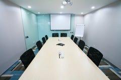 Quarto de reunião moderno Foto de Stock Royalty Free