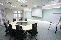 Quarto de reunião moderno Fotografia de Stock