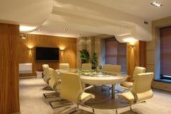Quarto de reunião no escritório imagens de stock royalty free