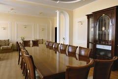 Quarto de reunião para o negócio Foto de Stock Royalty Free