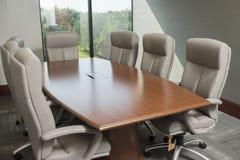 Quarto de reunião pequeno imagens de stock royalty free