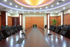 Quarto de reunião vazio Imagem de Stock
