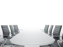 Quarto de reunião vazio Fotografia de Stock