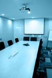 Quarto de reunião vazio Fotos de Stock Royalty Free