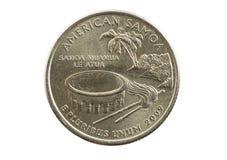 Quarto de Samoa Americana Fotografia de Stock Royalty Free