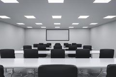Quarto de seminário vazio Imagens de Stock
