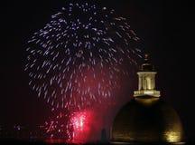 Quarto dei fuochi d'artificio di luglio a Boston 2006 Fotografie Stock Libere da Diritti