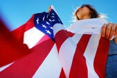 quarto del concetto di celebrazione di festa dell'indipendenza di luglio immagine stock