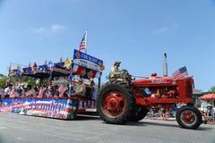 quarto del Huntington Beach CA U.S.A. di parata di luglio Immagine Stock