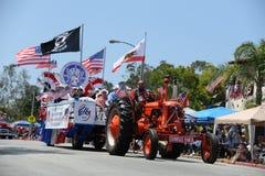 quarto del Huntington Beach CA U.S.A. di parata di luglio Fotografia Stock