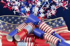 Quarto della celebrazione di luglio Immagini Stock Libere da Diritti