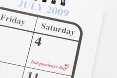 quarto della festa dell'indipendenza di luglio Immagini Stock Libere da Diritti