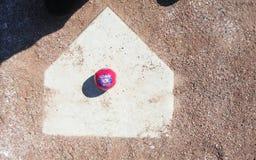 quarto di baseball di luglio Immagini Stock Libere da Diritti