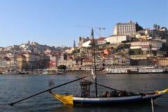 Quarto di Ribeira a Oporto, Portogallo Fotografia Stock Libera da Diritti