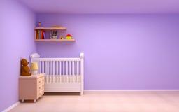 Quarto do bebê Fotos de Stock Royalty Free