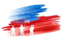 Quarto do Dia da Independência feliz América de julho Fotografia de Stock Royalty Free