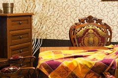Quarto do estilo de Ols Fotos de Stock Royalty Free