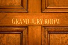 Quarto do júri grande Fotos de Stock