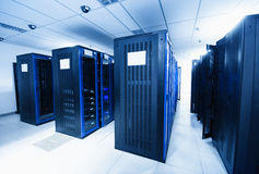 Quarto do server imagem de stock